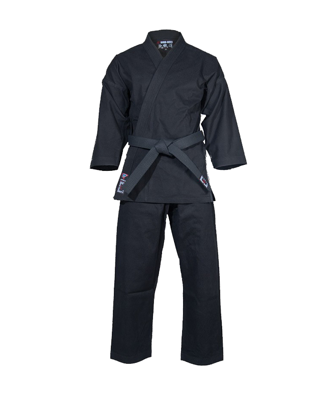 BN Shogun Jiu Jitsu Uniform schwarz 180 cm JuJutsu Anzug 180cm