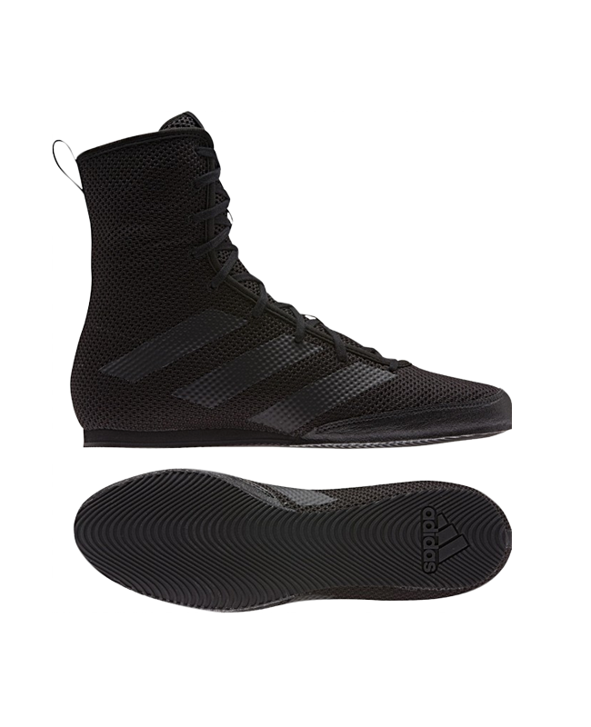 adidas Box Hog 3 Boxerschuhe EU36 2/3 UK4 schwarz EU36 2/3 UK4