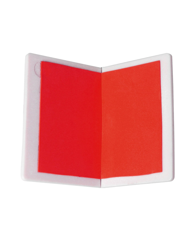Bruchtestbrett wiederverwendbar medium, rot