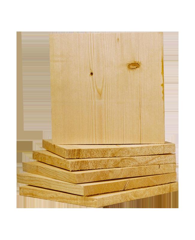 Bruchtestbrett 2,0cm Leimholz ca. 30x30cm 2 cm