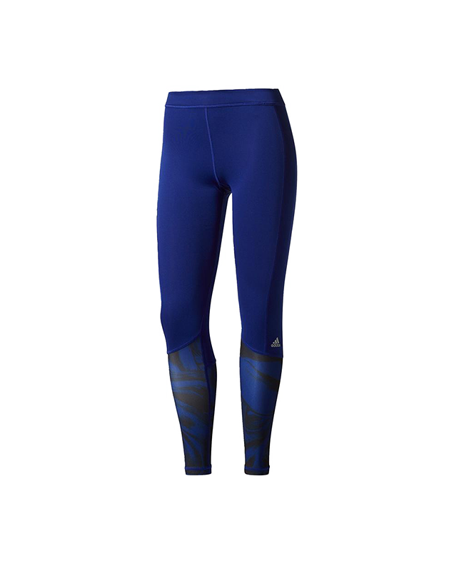 adidas Techfit Base Long Tights Print PR1 blau size L BS1222 L
