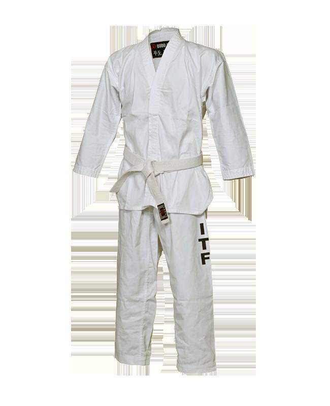 BN Taekwondo Anzug Basic mit ITF Aufdruck 170 cm weiß 170cm
