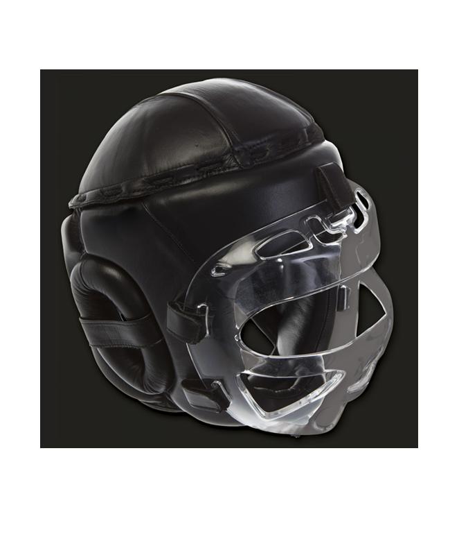 adidas Pro Safety Kopfschutz mit Gesichtsschutz Visir