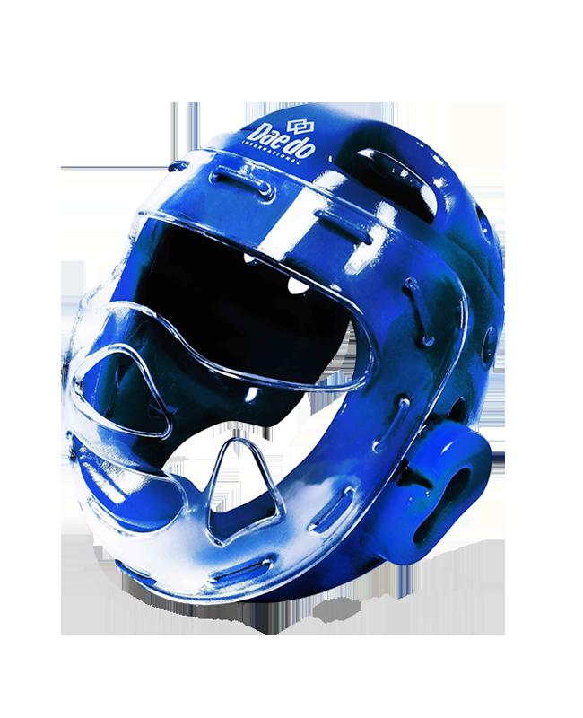 Daedo Kopfschutz mit Visier Gr. M blau WT approved PRO20915 M