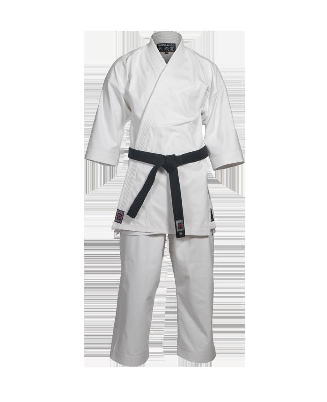 Budo Nord DENTO Karate Anzug weiß 160