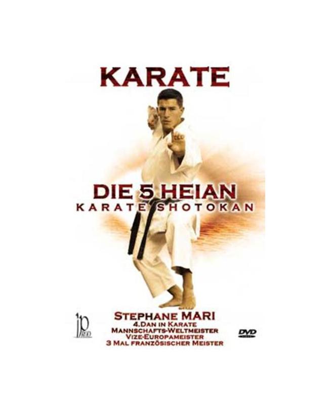 DVD, Die 5 Heian, Karate Shotokan, Stephane Mari IP 80