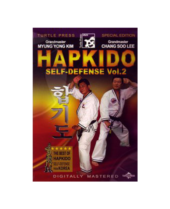 DVD, Hapkido Self Defense Vol.2 - Myung Yong Kim and Chang Soo Lee