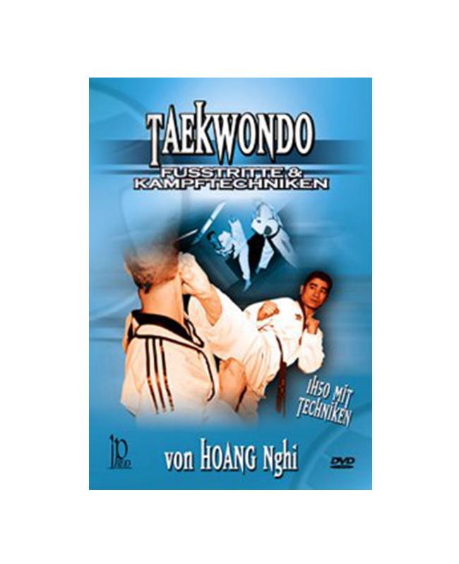 DVD, Taekwondo-Fusstritte und Kampftechniken, Hoang Nghi IP 65