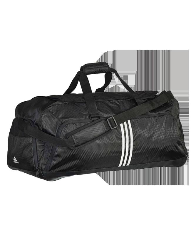 adidas 3-Streifen TEAM TASCHE L schwarz/grau AJ9990