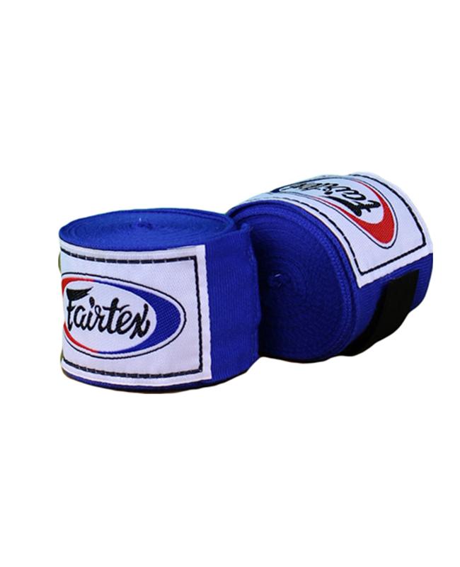 Fairtex Elastic Bandagen blau 450cm HW2