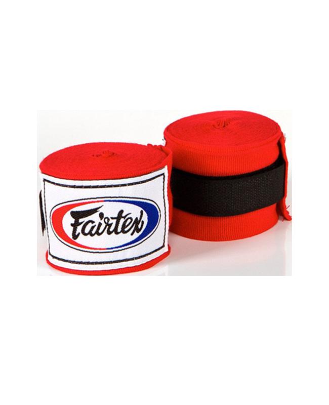 Fairtex Elastic Bandagen rot 450cm HW2