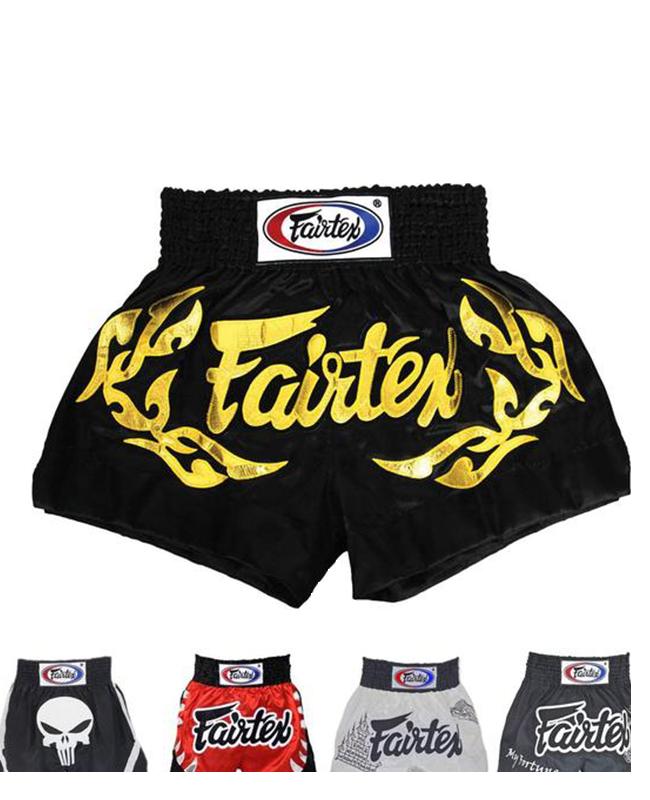 Fairtex Thaiboxing Short Gr.M schwarz BS0666 M