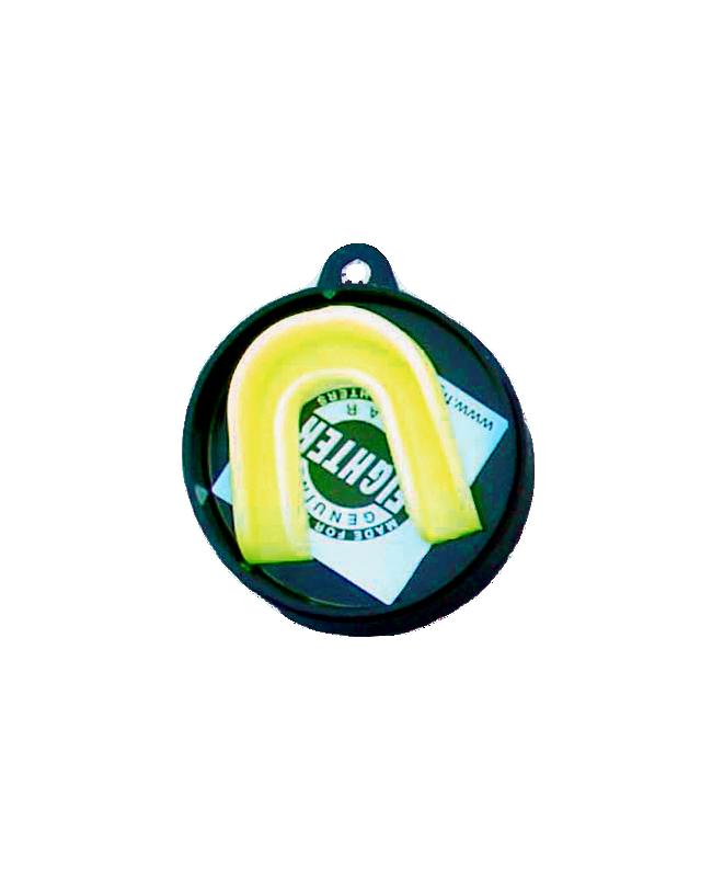Zahnschutz in verschiedenen Farben, CE gelb
