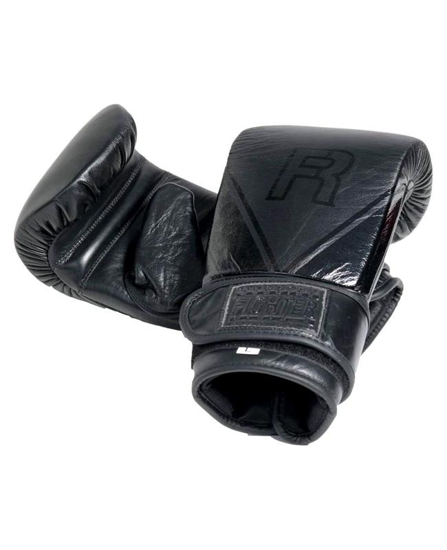 Fighter Bagglove Enargi schwarz aus Leder