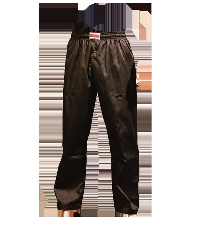 Fighter Workout Pants L 190cm schwarz 190cm