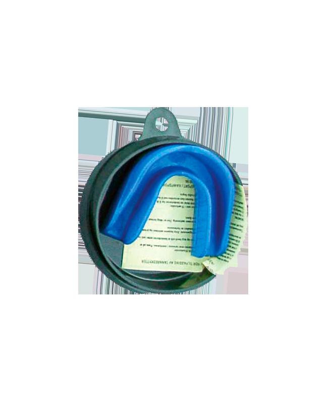 Zahnschutz blau, CE blau