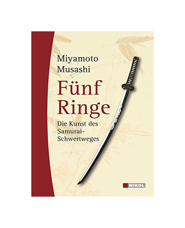 Buch, Fünf Ringe - Miyamoto Musashi (deut. Übersetzung)