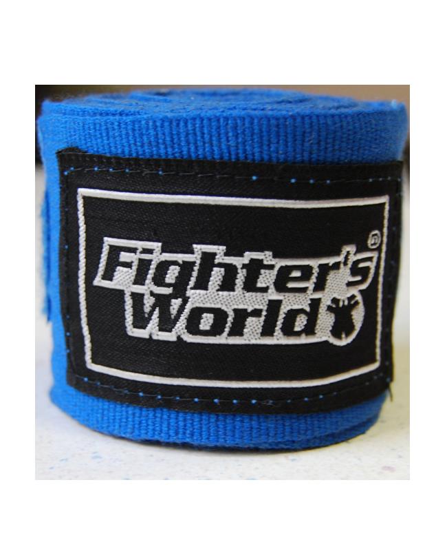 Boxbandagen elastic blau