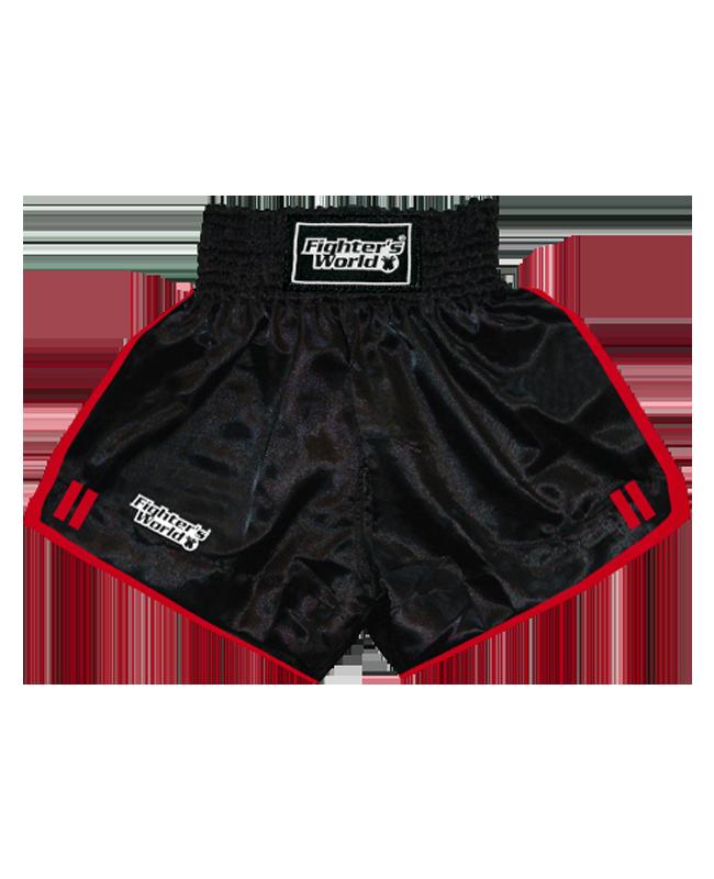 FW Boran Thaiboxing Short schwarz/rot M