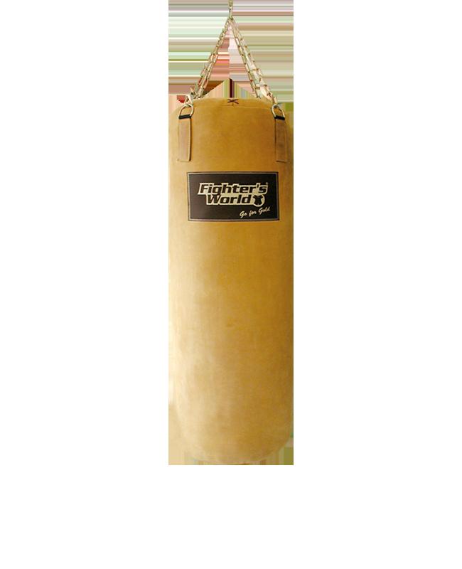 Boxsack Leder, FIGHTERSWORLD® Heritage authentic Style 100cm