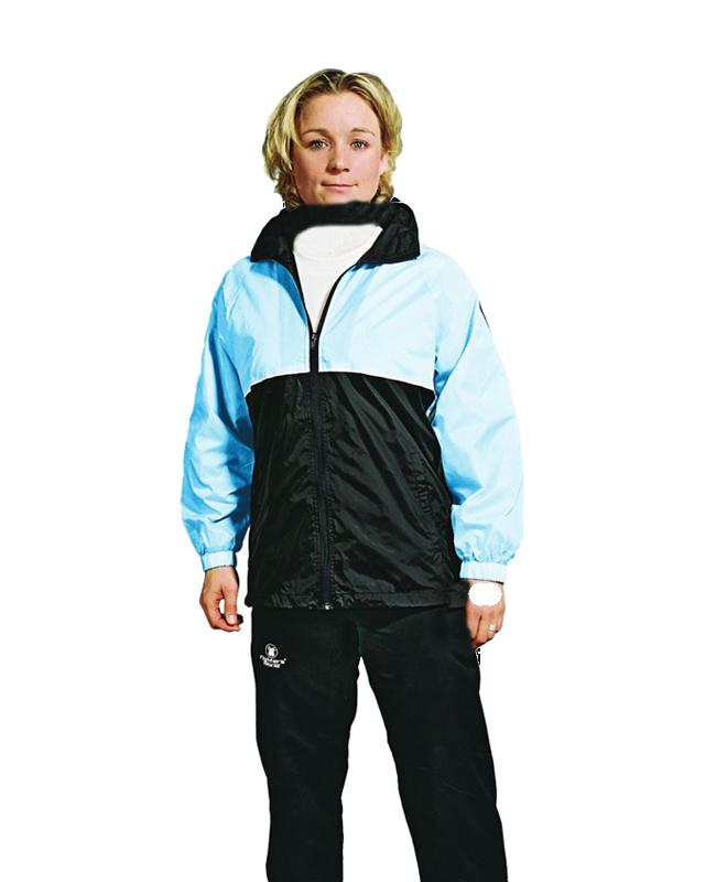 FW Team Sports Laufjacke Gr. XL schwarz/hellblau XL