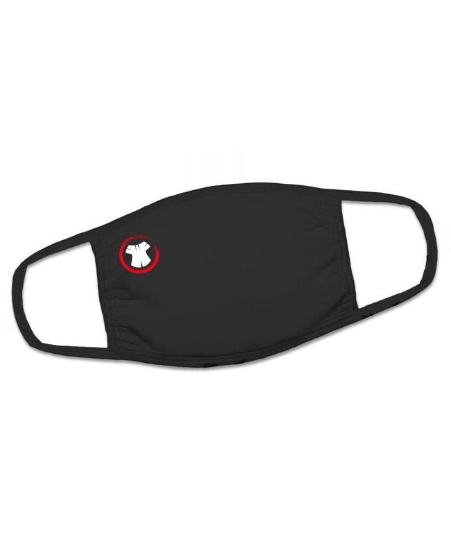 FIGHTERSWORLD Gesichtsmaske schwarz Prämienartikel