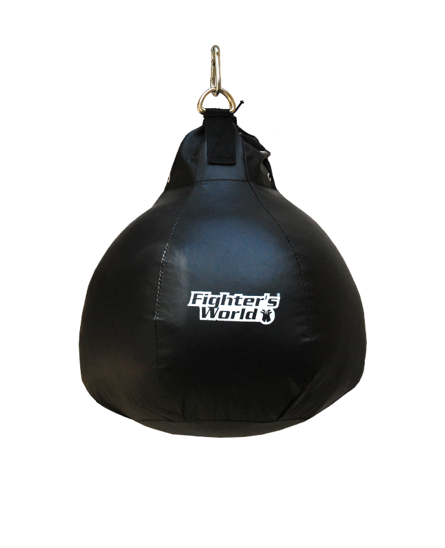 Fighter`s World Maisbirne Kunstleder 15kg 40cm Füllung mit Gummigranulat Boxbirne