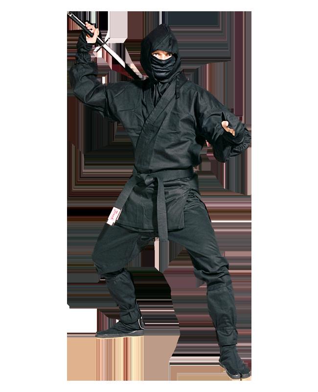 FW Ninja Anzug schwarz 180cm