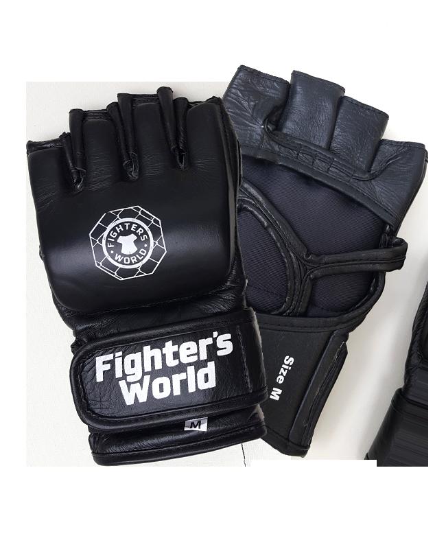 FW MMA Handschuhe Octagon schwarz/universe Leder