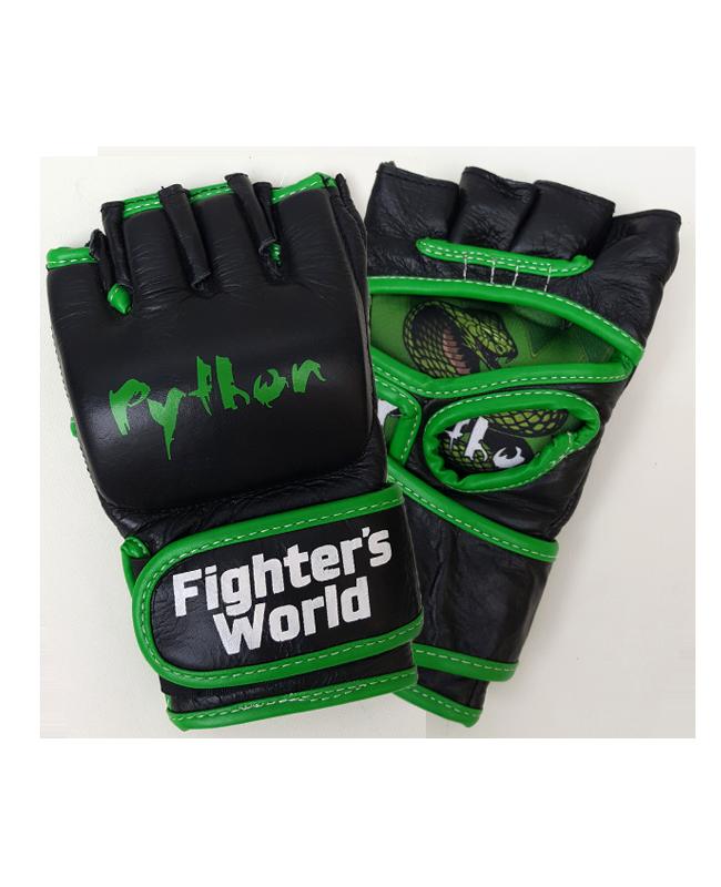 FW MMA Handschuhe Python schwarz