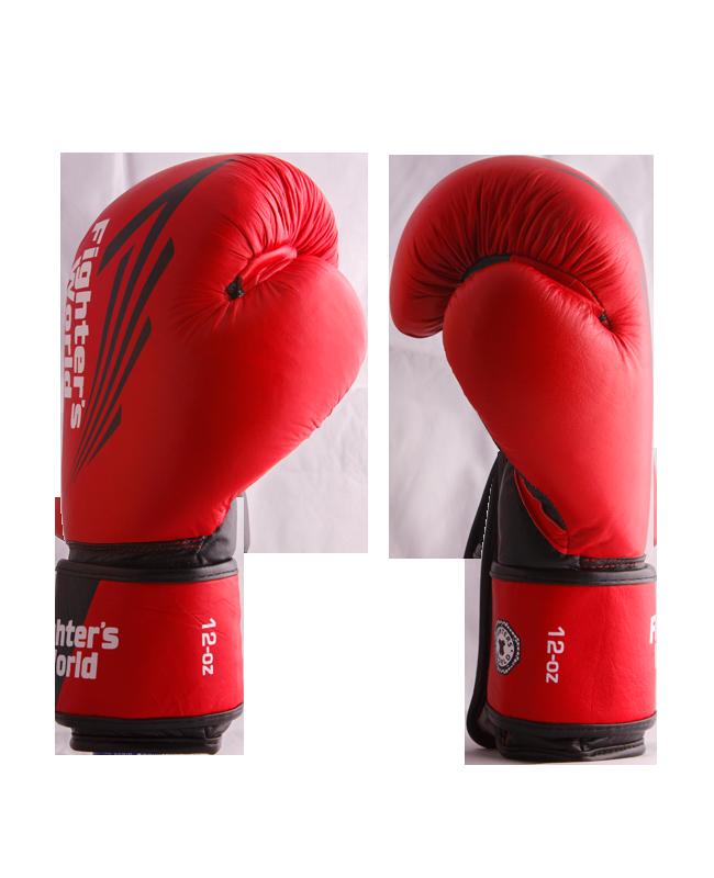 FW Red CORNER Boxhandschuhe Klettverschluss rot/schwarz