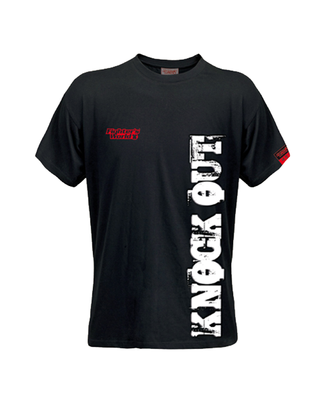 FW Spirit T-Shirt Knock Out schwarz