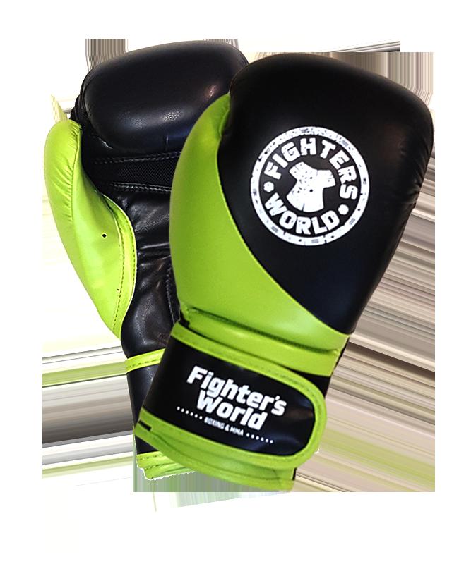 FW Boxhandschuh Strike Junior grün/schwarz 4 oz 4oz