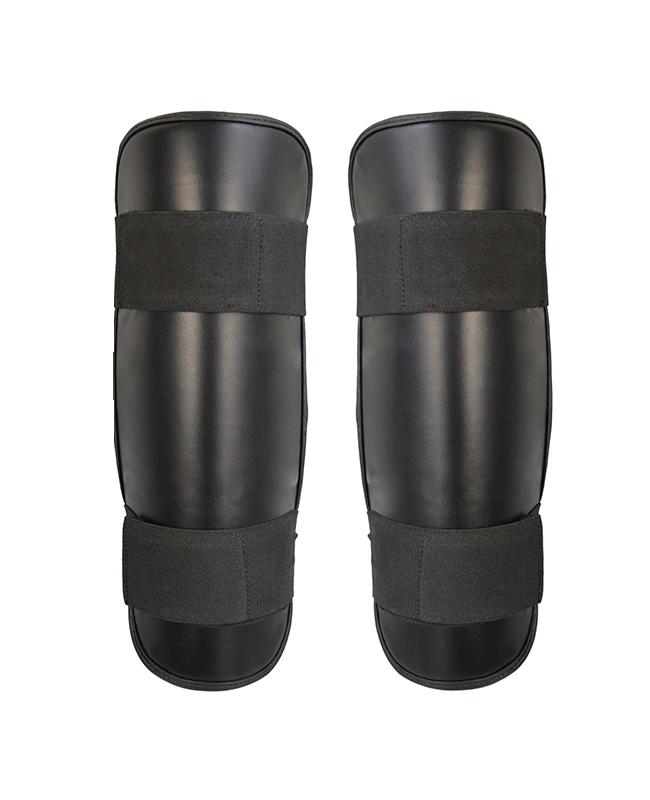 FW Thai Tech Schienbeinschutz Leder schwarz
