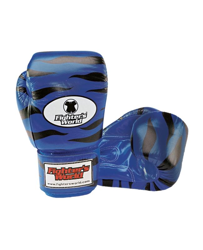 Original FIGHTERSWORLD TIGERGLOVE®, Velcro blau