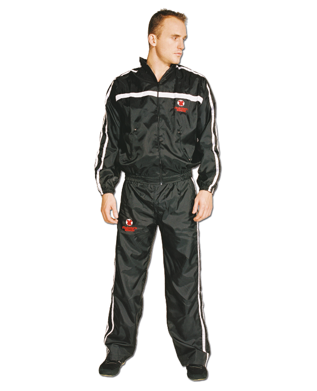 Thai Trainingsanzug, schwarz