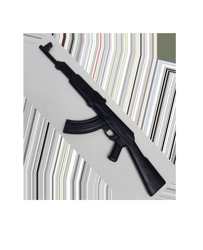 FW Trainingswaffe Gummi Sturmgewehr AK47 tactical gun training schwarz