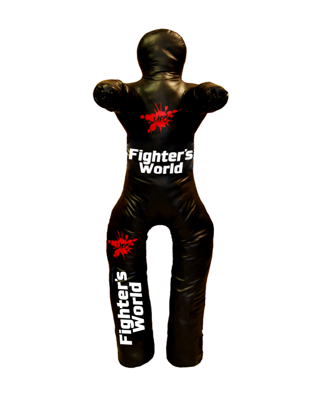 FW UFG Ringer Wurfdummy Vinyl Trainingspuppe mit 2 Armen und 2 Beinen schwarz