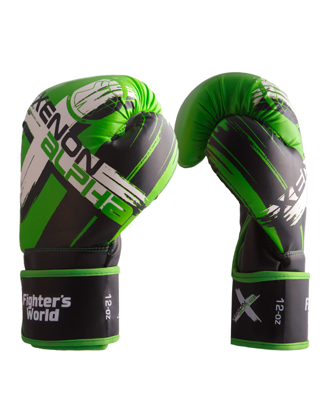 FW XENON ALPHA Boxhandschuhe oz green/black