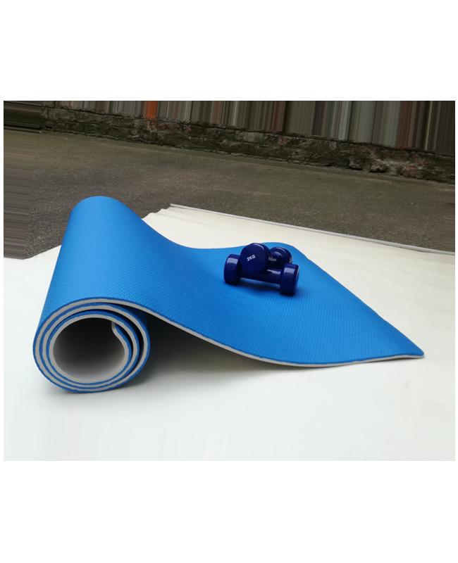 FW Premium Yoga Matte blau/grau