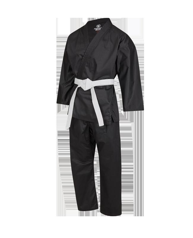 FW ITOSU middleweight Uniform schwarz Gr. 180 KA260 180