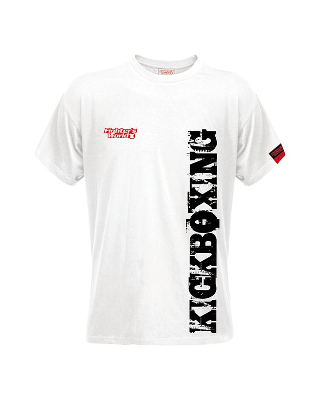 FW Spirit T-Shirt Kickboxen weiß