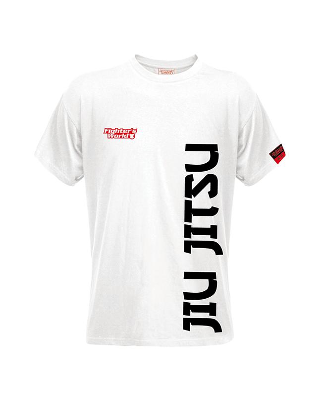 FW Spirit T-Shirt Jiu Jitsu weiß