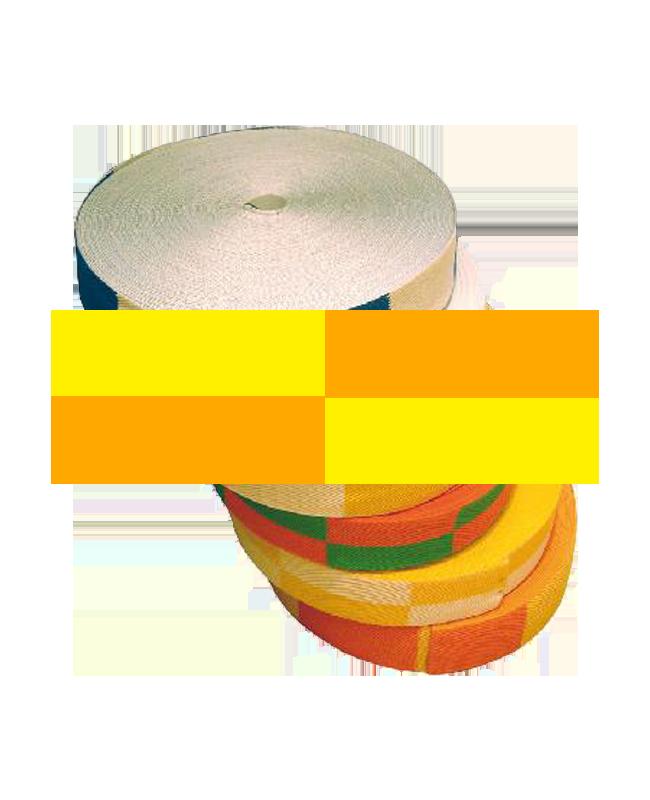 Gürtelrolle 50 m gelb/orange