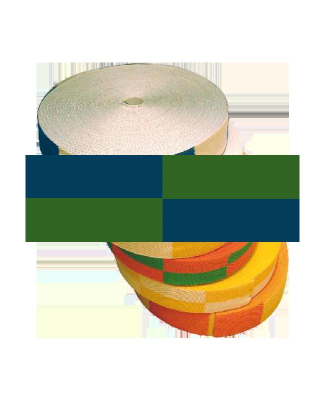 Gürtelrolle 50 m grün/blau