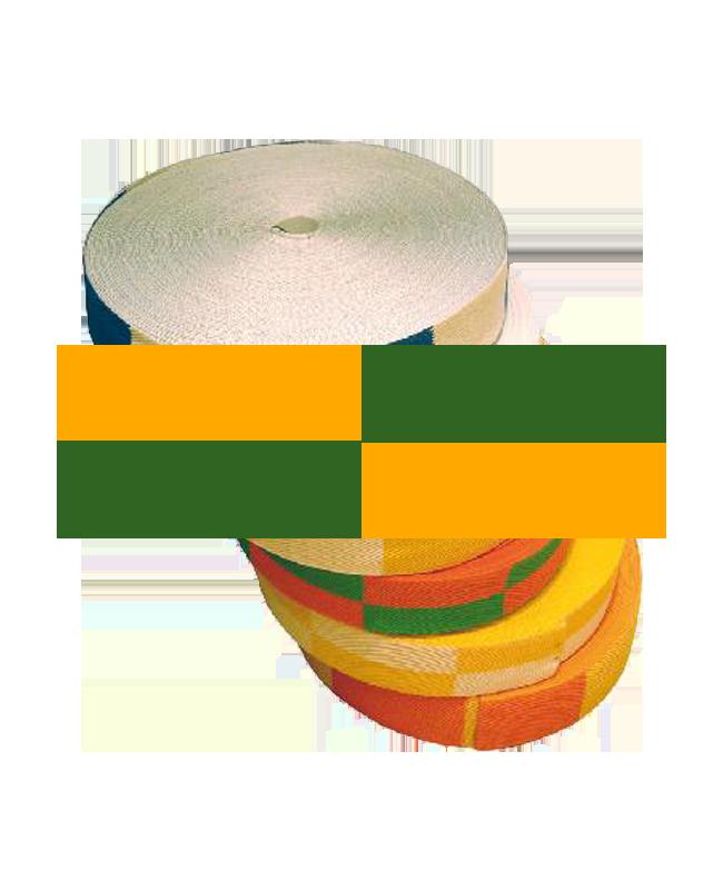 Gürtelrolle 50 m orange/grün