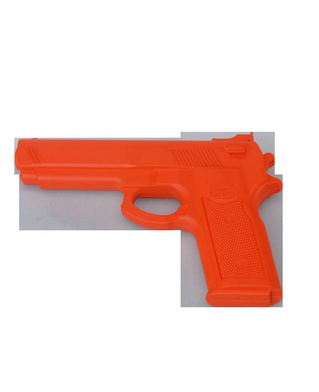 FW Trainingswaffe Gummi Pistole Red Gun rot Self Defense