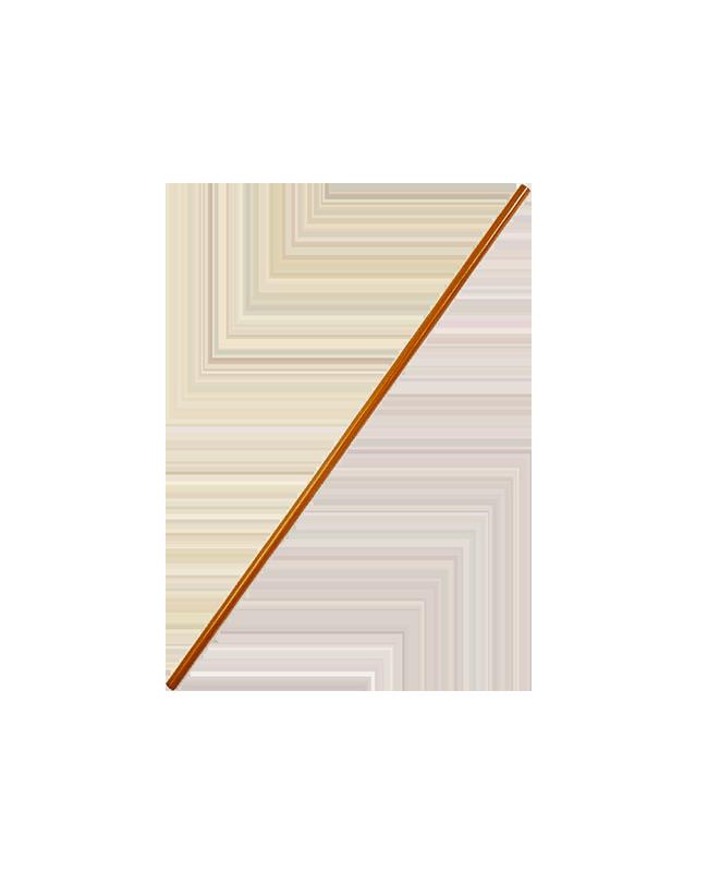 FW HANBO Roteiche 3cm Holzstab braun ca.91 cm