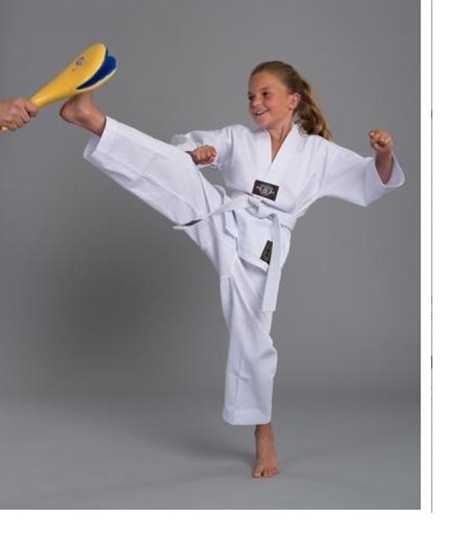 Fighter`s World Taekwondo Anzug KIBON weißer Kragen
