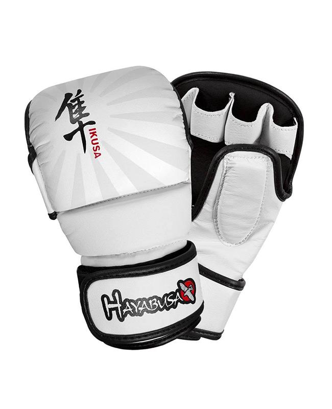 Hayabusa Ikusa 7oz Hybrid MMA Handschuhe weiss Gr. S S